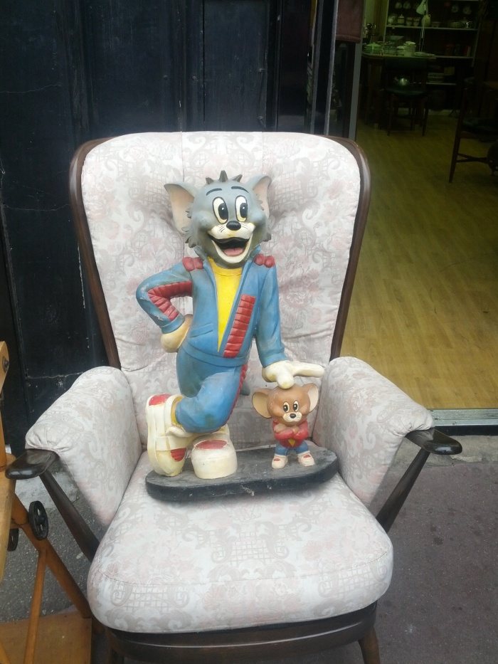 Off-model Tom & Jerry in Clapton